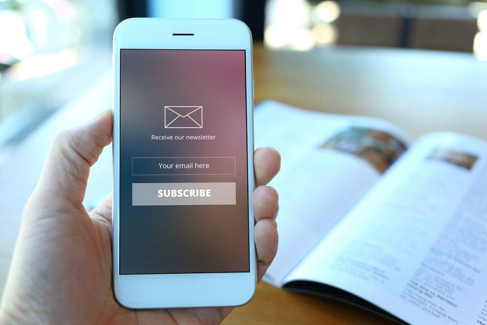 Gaining Email Newsletter Subscribers