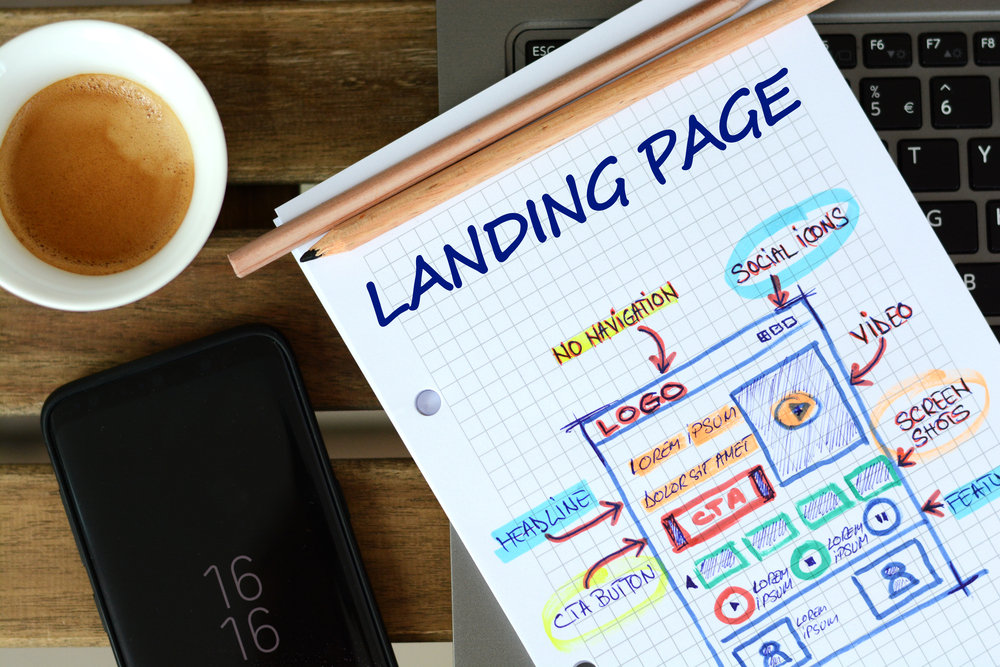 Landing Page Layout and Explanation